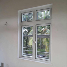 60 Casement reinforcement upvc windows in-swing out-swing used windows and doors