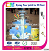 2016 hot sales of Environmentally friendly 3D Epoxy floor coating