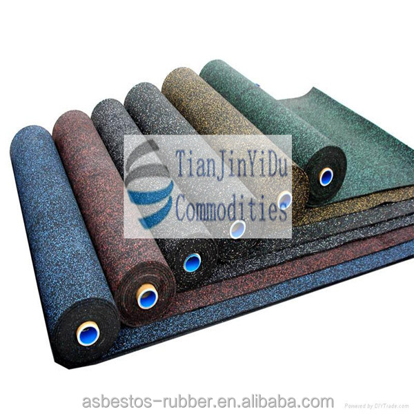 high friction outdoor waterproof EPDM speckles rubber sheet