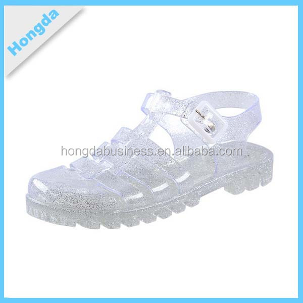RETRO JELLY LADIES FANCY SANDAL SUMMER BEACH FLAT SHOES