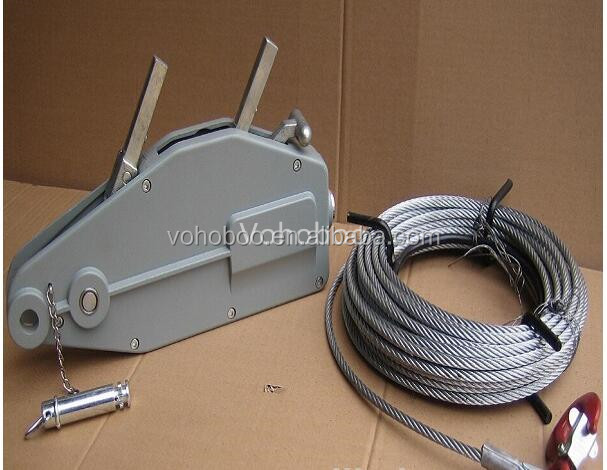 800KG wire rope manual cable hoist