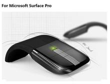 Buy One 3D Arc Mouse Free Android Mobile Phone Cable Wireless Foldable Slim Mouse For Microsoft Frequency 2.4Ghz Hot Sales
