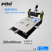 dektop puhui manual paster solder paste screen printer