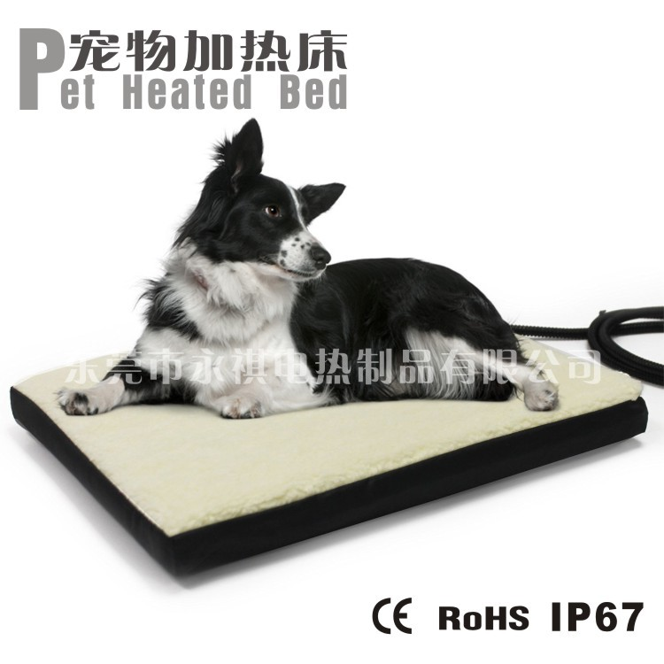 Memory Foam Orthopedic Dog Bed with Removable heat pad
