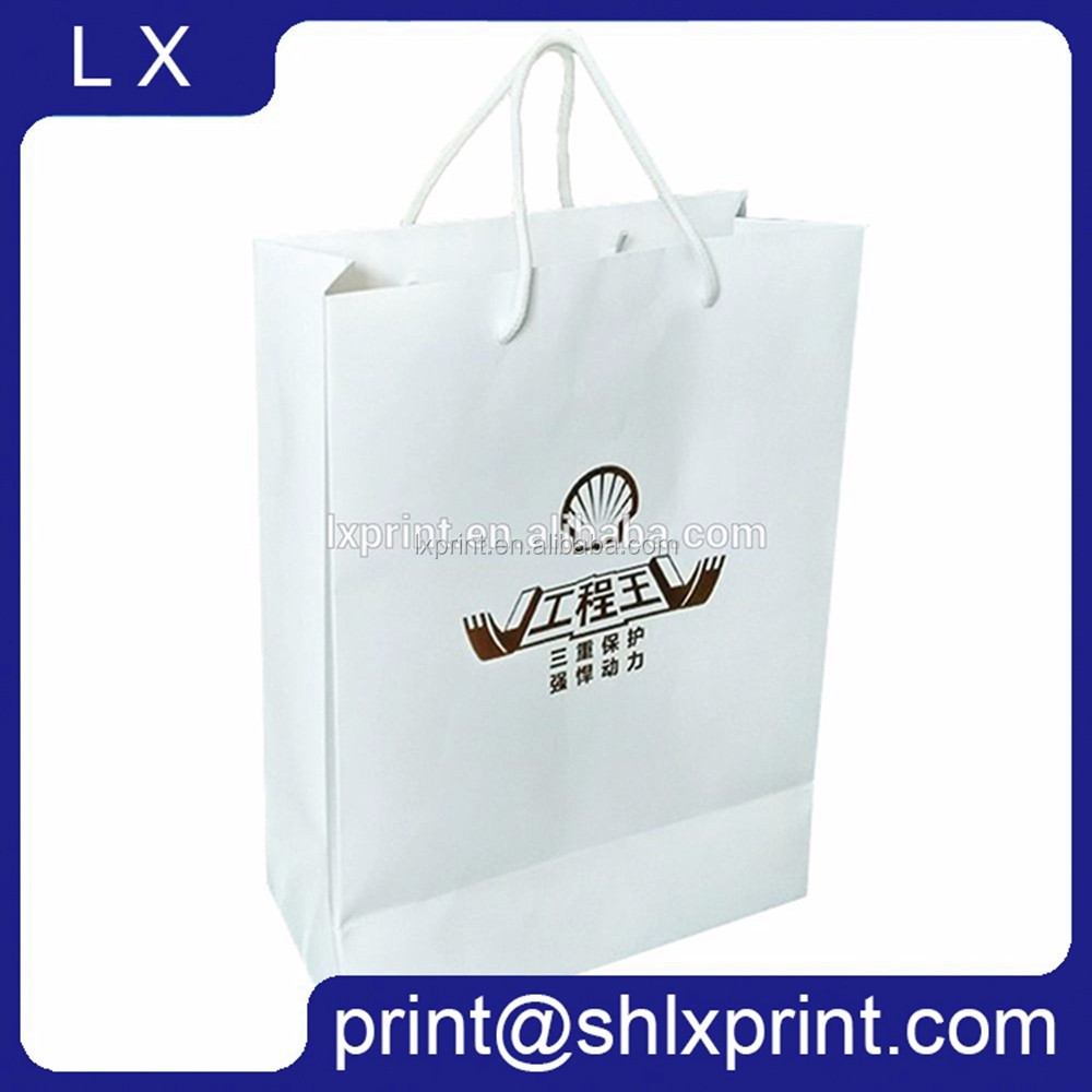 Paper Shopping Bag, Custom LOGO Printed Paper Carry Bag