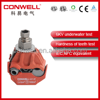 underwater test insulation piercing connector insulation sleeve