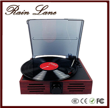 Rain lane Vintage Classic Style Automatically Stop System Best Phonograph Turntable