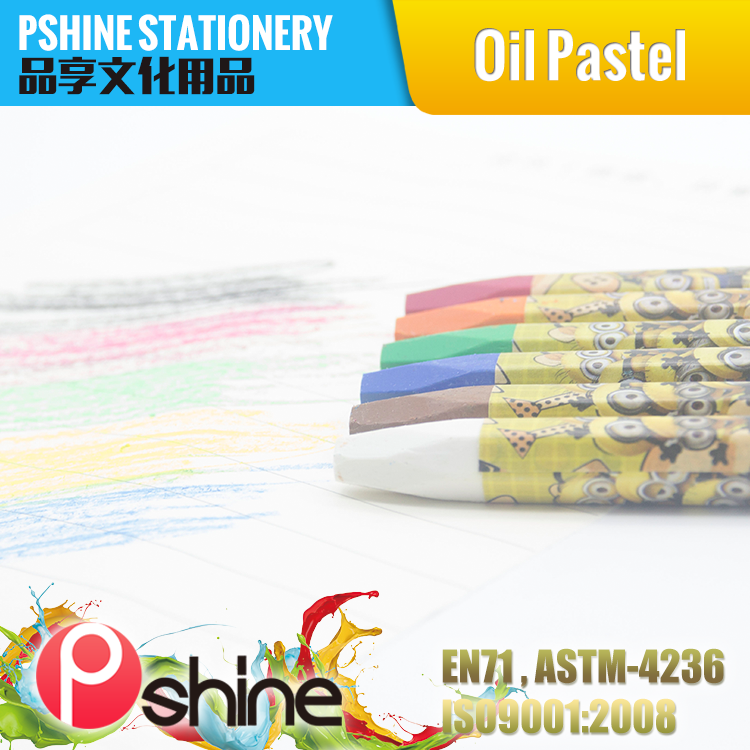 Hot Selling Custom Color factory supply artist soft oil pastel