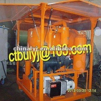 Transformer Maintenance/Oxydize Transformer Oil Cleaning Machine