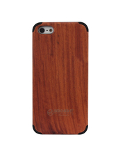 cherry wood case for iphone 5 case cherry wood