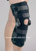 Adjustable rom hinged knee brace with FDA and CE Certificate