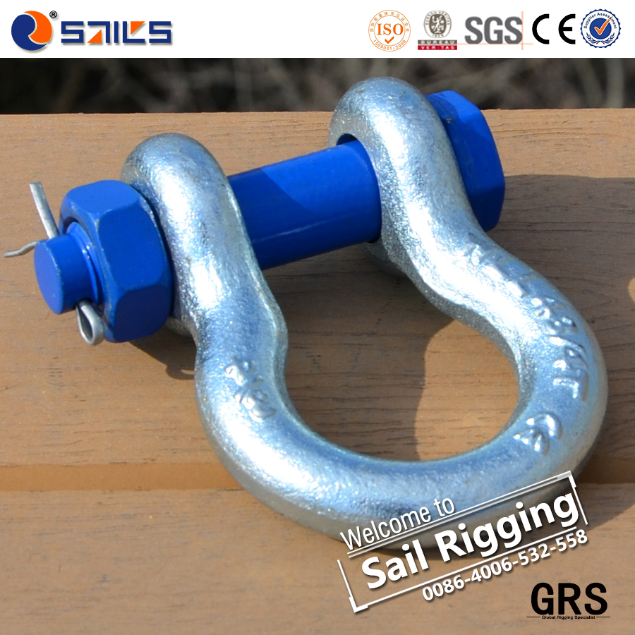 Rigging Hardware drop Forged shackle chain fastener