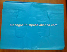HDPE garbage bag/ Plastic shopping bag for supermarket/ 100% virgin or recycled material, lowest cheap bag