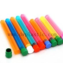 New Style Colorful plastic cone tube doob tube removable cap tubes