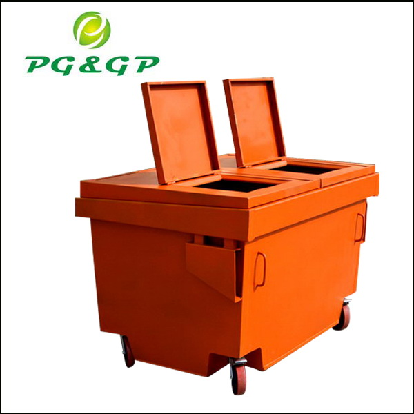 1600L trash bin with simple packing