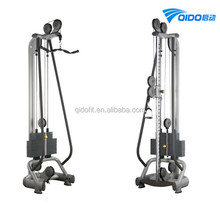 Gym Equipment Single Adjustable Pulley, cable crossover, smith machine
