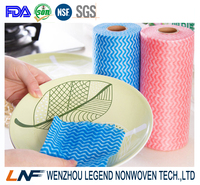 good water absorption non woven cleaning wipes