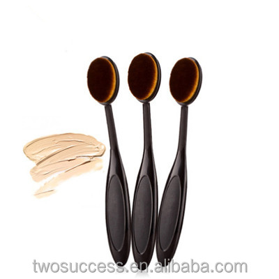 Personalized BB cream face beauty soft brush Oval Head Cosmetic Set custom logo makeup brushes