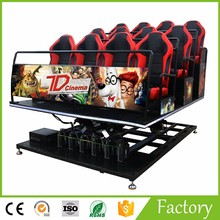Exciting Game Machine Cinema Equipment 7d cinema chair