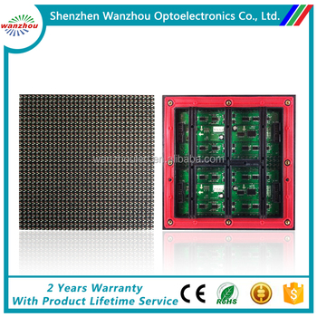 High Brightness Waterproof Outdoor P8 Full Color LED Display Module