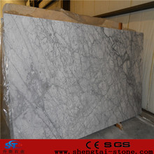 cultured exotic white carrara marble slab slabs price
