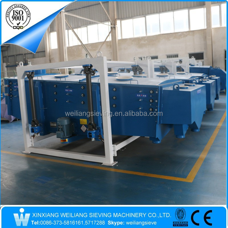 10-15tons/hour sand/salt/sugar vibratory screener sifter sieve machine