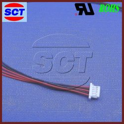 JST SH1.0MM single row cg125 motorcycle 24 core optical fiber cable