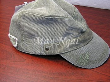 Men's Canvas Army Cap