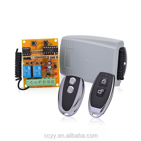 RF 2 channel control board,wireless control receiver YET402pc-v2.0