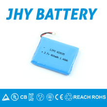 423035 fitness watch lithium battery 3.7v 400mAh in hot selling