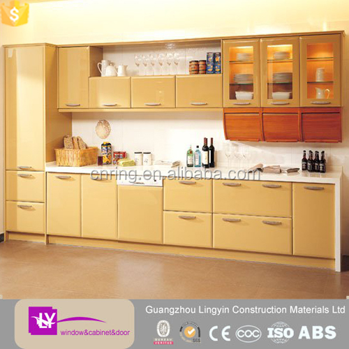 2016 modern models kitchen furniture guangzhou factory for Model kitchen set 2016