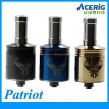 Patriot atomizer RDA 3 Post Rebuildable Atomizer In Stainless Steel