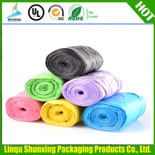 100% biodegradable kitchen trash bags / garbage bag,Wholesale hdpe / ldpe plastic colored trash bags