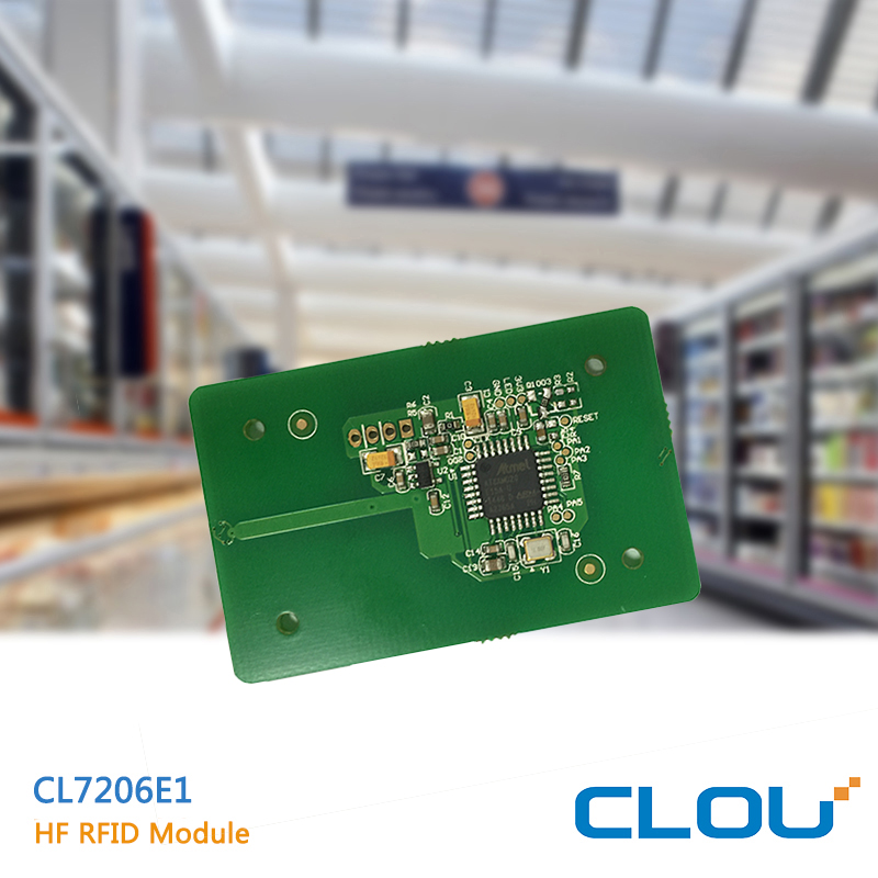 CL7206E1 programmable wallet rfid tag lock for library management