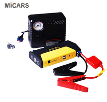 2018 Profession emergency portable car jump starter with air compressor jump starter car start