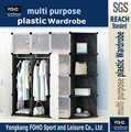 14 Cubes DIY storage basket closet wardrobe with corner cabinets (FH-AL00543-12)