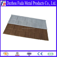 Stone Coated Roof Tile Corrugated Waves Metal Coated Roofing Tile With Color Shingle Stone Chip Coating