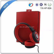 Super Bass Stereo Sound Free Sample MP3/Mobile Phone Wired Headphone