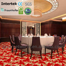 fashion wilton pp red patterned carpet used in hotel restaurant house