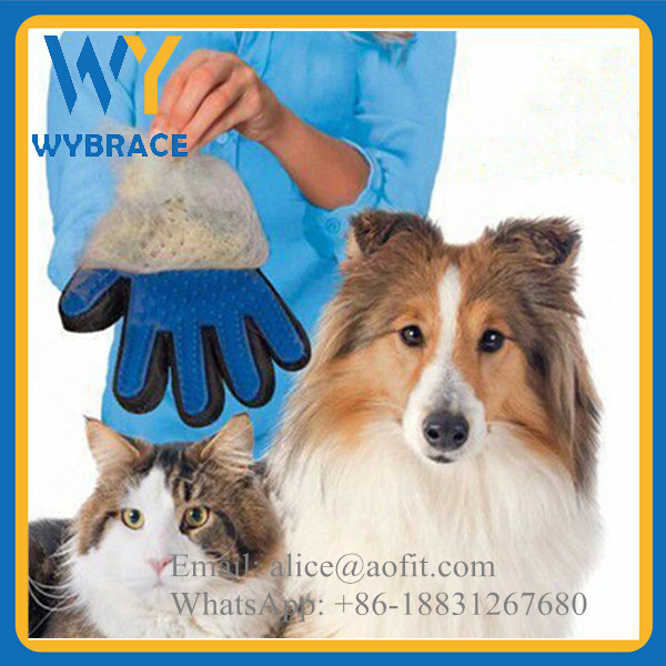 2017 Fashion Product Pet Bath Brush/ Pet Grooming/ Pet Brush Glove