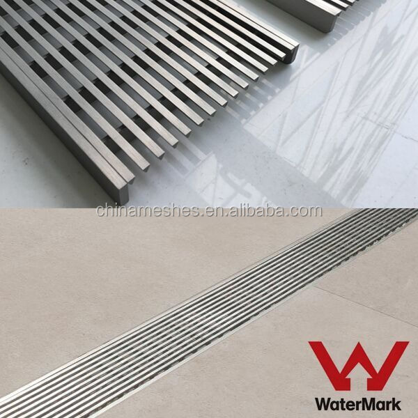 Stainless Steel 304 316 steel wire bar grating floor drain