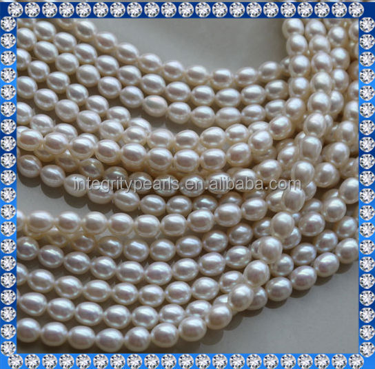 5-6mm AAA rice freshwater pearls