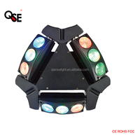 9*10W RGBW 4in1 LED Beam Mini small size 9 lens spider Lighting DJ club Karaoke Professional manufacture