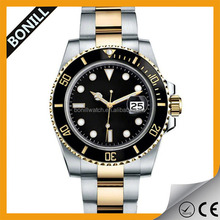 High quality rolexable all stainless steel japanese automatic movement for men