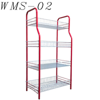 plant pop shelf wire mesh display racks and stands
