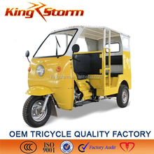 2015 Hot Sale Three Wheel Motorized Passenger Tricycle/Petrol Tricycle For Passenger Price