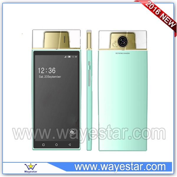 Rotatable 5.0MP Camera Android Phone 5.5 inch QHD Dual SIM WIFI 3G Multi Colors