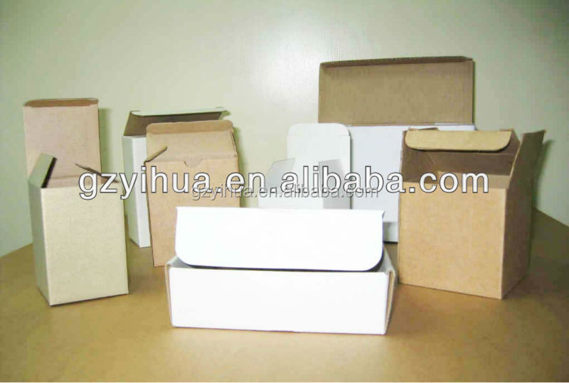 Custom Die Cut brown carton Box for Outer Packing