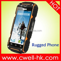 "MTK6572 Dual Core ""Rugged android cell phone 4 inch touch screen Discovery V8"