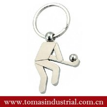 hot selling sport London souvenir key holder with hockey